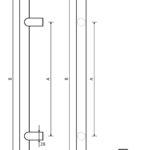 pochwyty drzwiowe marki x7zo - model z12