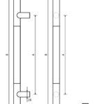 pochwyty drzwiowe marki x7zo - model z13 b