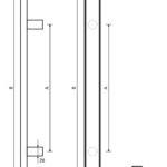 pochwyty drzwiowe marki x7zo - model z25